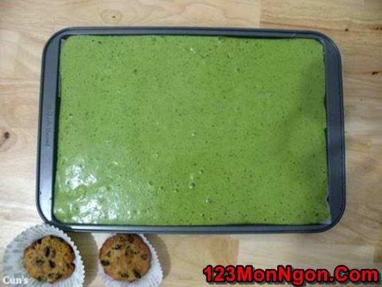 Cách làm bánh cuộn trà xanh mềm thơm cực ngon ăn là ghiền cho cả nhà thưởng thức phần 5