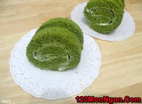 Cách làm bánh cuộn trà xanh mềm thơm cực ngon ăn là ghiền cho cả nhà thưởng thức phần 8