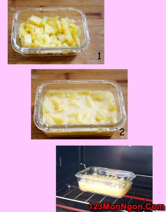 Cách làm bánh dứa ngọt dịu thơm ngon rất hấp dẫn cho buổi chiều thu nhâm nhi cùng bạn bè phần 4