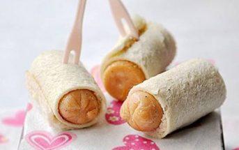 Cách làm bánh mì cuộn xúc xích đơn giản thơm ngon hấp dẫn cho bữa ăn nhẹ