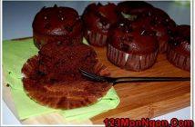 Cách làm bánh Muffin chocolate ngọt ngào hấp dẫn đãi cả nhà thưởng thức ngày mới