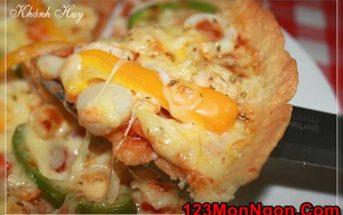 Cách làm bánh Pizza hải sản thơm lừng cực ngon cho cả nhà thưởng thức ngày cuối tuần