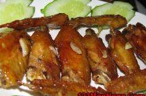 Cách làm cánh gà rán giòn sốt chua ngọt thơm ngon hấp dẫn đổi vị cho bữa cơm gia đình