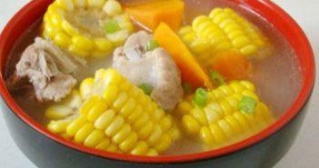 Cách làm canh sườn hầm ngô đậm đà thơm ngon cho bữa cơm gia đình thêm hấp dẫn