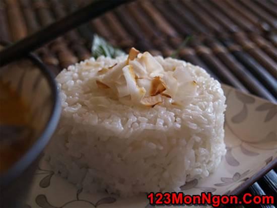Cách làm cơm dừa Thái thơm ngon lạ miệng cho bữa trưa thanh mát hấp dẫn phần 9
