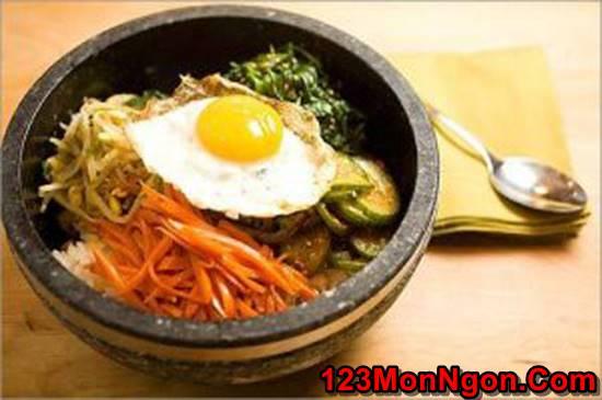 Cách làm cơm trộn kiểu Hàn Quốc mới lạ thơm ngon đổi vị cho cả nhà thưởng thức phần 1