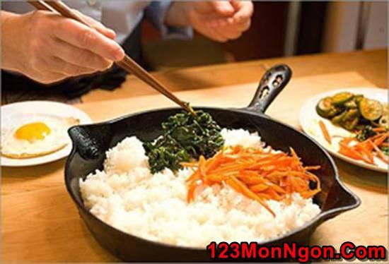 Cách làm cơm trộn kiểu Hàn Quốc mới lạ thơm ngon đổi vị cho cả nhà thưởng thức phần 2