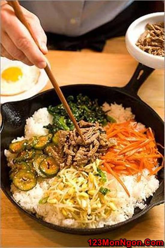 Cách làm cơm trộn kiểu Hàn Quốc mới lạ thơm ngon đổi vị cho cả nhà thưởng thức phần 3