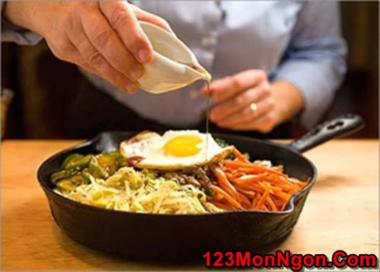 Cách làm cơm trộn kiểu Hàn Quốc mới lạ thơm ngon đổi vị cho cả nhà thưởng thức phần 4