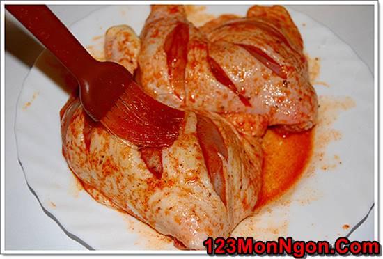 Cách làm gà nướng chanh ớt thơm lừng cay ngon rất hấp dẫn cho bữa tiệc cuối tuần phần 3