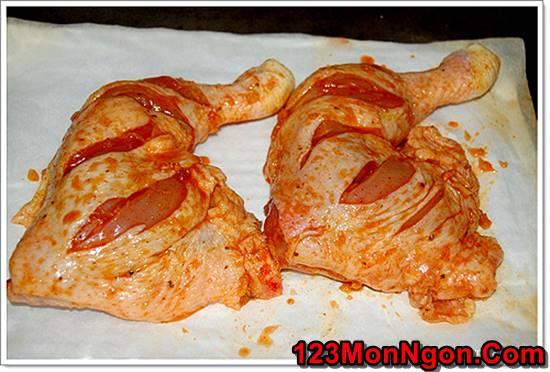 Cách làm gà nướng chanh ớt thơm lừng cay ngon rất hấp dẫn cho bữa tiệc cuối tuần phần 4