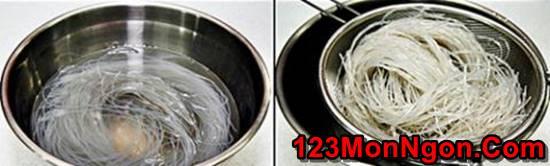 Cách làm miến trộn Hàn Quốc lạ miệng mà rất thơm ngon hấp dẫn cho bữa sáng đầu tuần phần 2