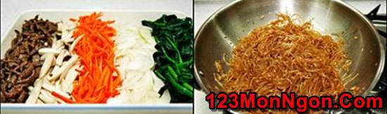 Cách làm miến trộn Hàn Quốc lạ miệng mà rất thơm ngon hấp dẫn cho bữa sáng đầu tuần phần 7
