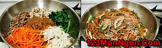 Cách làm miến trộn Hàn Quốc lạ miệng mà rất thơm ngon hấp dẫn cho bữa sáng đầu tuần phần 8