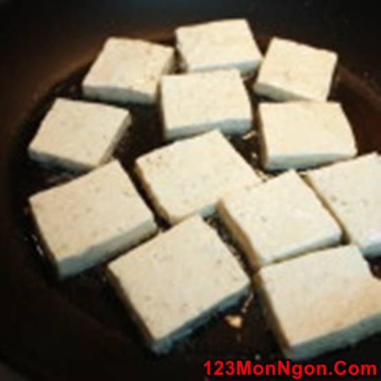 Cách làm món đậu phụ sốt xì dầu thanh đạm mà đậm đà thơm ngon cho bữa trưa đơn giản phần 7