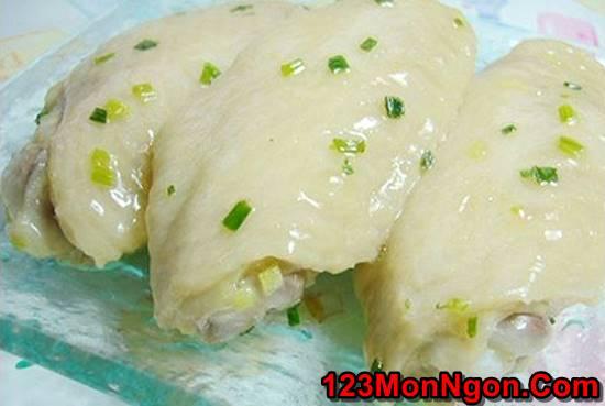 Cách làm món gà chao mỡ hành thơm ngọt cực hấp dẫn cho bữa cơm ngon miệng ngày mưa lạnh phần 8