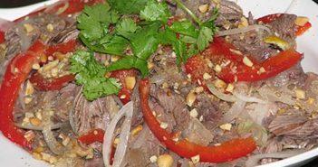 Cách làm món gỏi bắp bò thanh mát thơm ngon chống ngán cho cả nhà thưởng thức ngày Tết