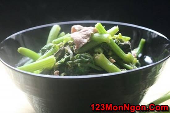 Cách làm món rau bí xào thịt bò thanh mát bổ dưỡng thật thơm ngon cho bữa cơm hằng ngày phần 1