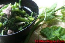 Cách làm món rau bí xào thịt bò thanh mát bổ dưỡng thật thơm ngon cho bữa cơm hằng ngày