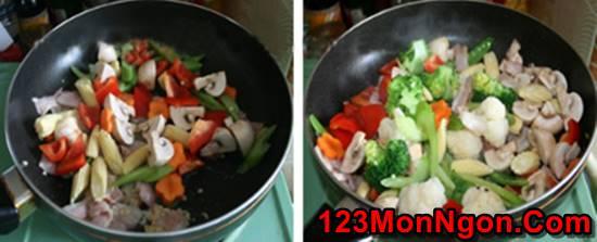 Cách làm món rau xào thập cẩm đẹp mắt thơm ngon đủ chất cho bữa cơm tối đơn giản của gia đình phần 5