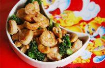 Cách làm món tôm xào bông cải xanh hạt điều thơm ngon bổ dưỡng