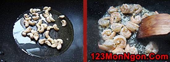 Cách làm món tôm xào bông cải xanh hạt điều thơm ngon bổ dưỡng phần 3