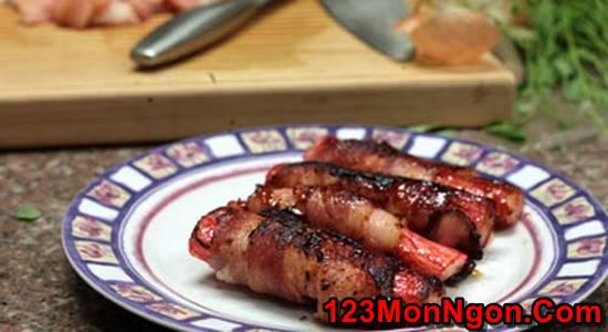 Cách làm thịt ba chỉ cuộn thanh cua đơn giản thơm lừng thật ngon cho bữa trưa phần 3