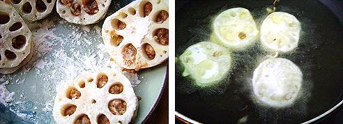 Cách mà món củ sen nhồi thịt rán giòn ngon thơm lừng đổi vị cho bữa cơm hằng ngày phần 6
