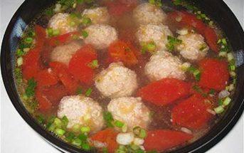 Cách nấu canh cà chua thịt viên nhanh gọn đậm đà thơm ngon