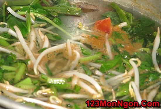 Cách nấu canh chua rau muống thanh mát giòn ngon thật hấp dẫn cho bữa cơm ngày trưa hè phần 5