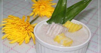 Cách nấu chè khoai nếp nóng hổi thơm lừng ngọt bùi cực ngon cho cả nhà thưởng thức ngày mưa