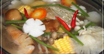Cách nấu lẩu nấm thanh mát đậm đà bổ dưỡng thơm ngon cho bữa tiệc cuối tuần