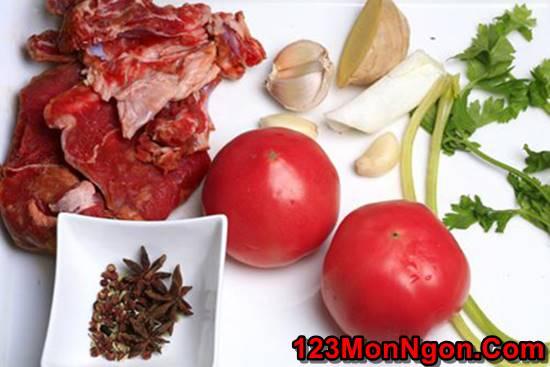 Công thức làm bò hầm cà chua đậm đà bổ dưỡng cho bữa cơm ngon miệng ngày cuối tuần phần 2