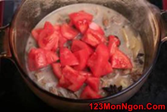Công thức làm bò hầm cà chua đậm đà bổ dưỡng cho bữa cơm ngon miệng ngày cuối tuần phần 7