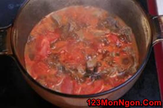 Công thức làm bò hầm cà chua đậm đà bổ dưỡng cho bữa cơm ngon miệng ngày cuối tuần phần 8