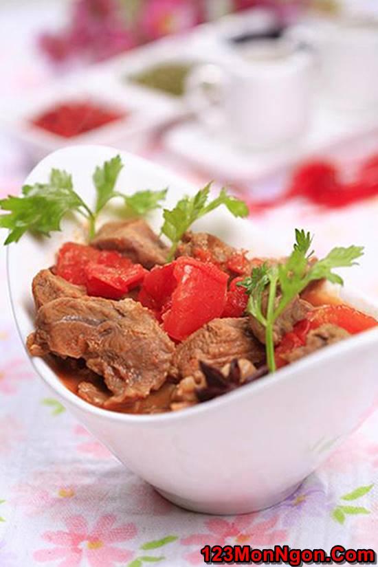 Công thức làm bò hầm cà chua đậm đà bổ dưỡng cho bữa cơm ngon miệng ngày cuối tuần phần 9