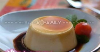 Cách làm bánh flan sữa chua thơm ngon hấp dẫn thanh mát giải nhiệt ngày hè