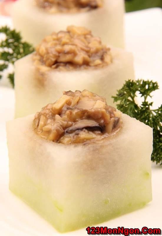 Cách làm bí đao nhồi nấm hương sốt lạ miệng thơm ngon thật hấp dẫn cho cả nhà thưởng thức phần 4