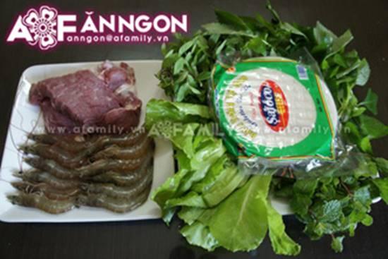 Cách làm bún cuốn tôm thịt thơm ngon đơn giản cho bữa trưa văn phòng phần 2
