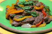 Cách làm món bò xào húng quế kiểu Thái cay thơm thật hấp dẫn đổi vị cho cả nhà