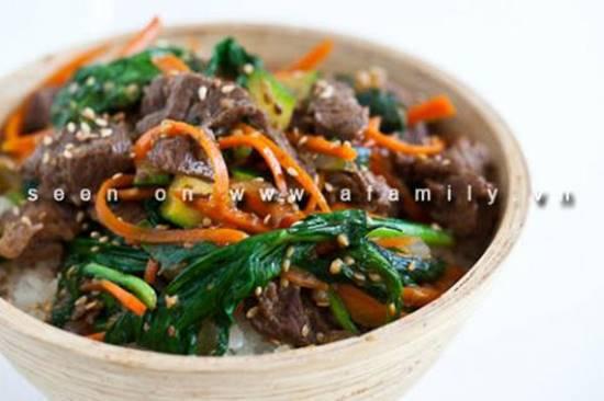 Cách làm món bò xào rau củ kiểu Hàn Quốc ngon lạ thật hấp dẫn đổi vị cho cả nhà phần 10