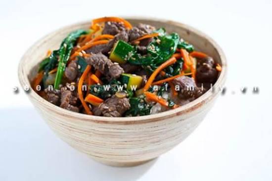 Cách làm món bò xào rau củ kiểu Hàn Quốc ngon lạ thật hấp dẫn đổi vị cho cả nhà phần 11