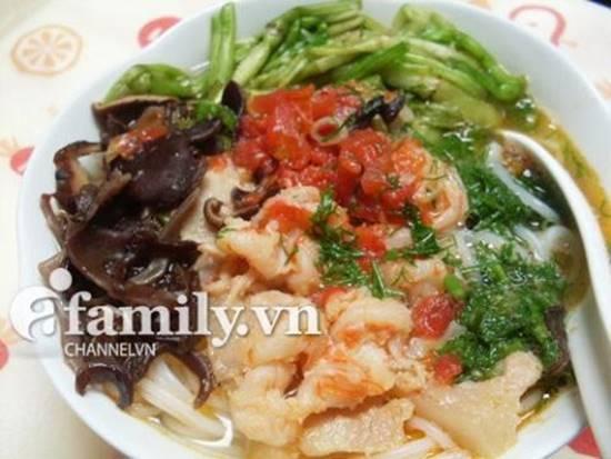 Cách làm món bún tôm Hải Phòng thơm ngon hấp dẫn cho cả nhà thưởng thức cuối tuần phần 19