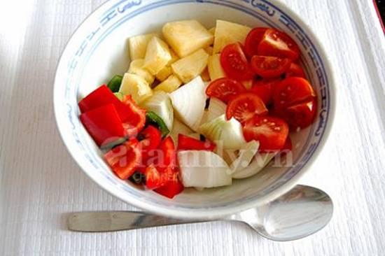 Cách làm món gà xào chua ngọt thơm ngon hấp dẫn ăn là ghiền đãi cả nhà ngày cuối tuần phần 3