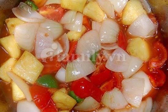Cách làm món gà xào chua ngọt thơm ngon hấp dẫn ăn là ghiền đãi cả nhà ngày cuối tuần phần 5