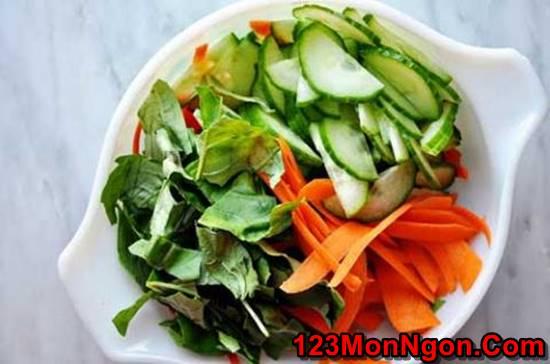 Cách làm món nộm miến gà kiểu Thái đơn giản mà thơm ngon chua ngọt rất dễ ăn phần 2