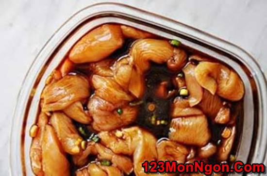 Cách làm món nộm miến gà kiểu Thái đơn giản mà thơm ngon chua ngọt rất dễ ăn phần 4