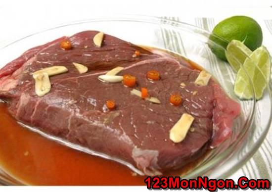 Cách làm món salad bò nướng chua cay thơm ngon đổi vị cho ngày cuối tuần phần 2
