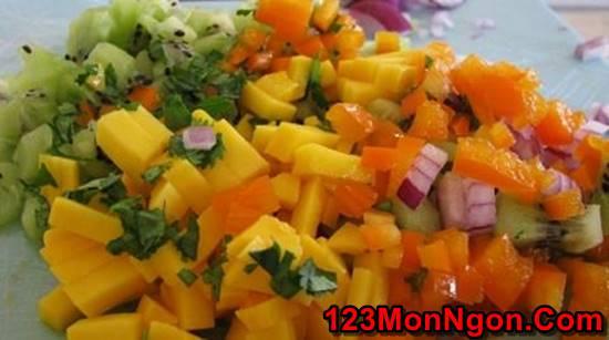 Cách làm món Salad xoài wiki chua ngọt thơm ngon cho thực đơn hằng ngày thêm phong phú phần 3