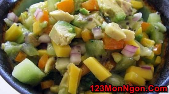 Cách làm món Salad xoài wiki chua ngọt thơm ngon cho thực đơn hằng ngày thêm phong phú phần 4